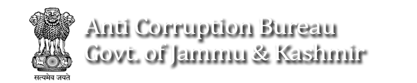 Anti Corruption Bureau, Jamu Kashmir